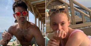 Joe Jonas Sophie Turner luna de miel Maldivas