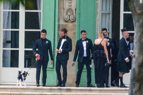 Joe Jonas Wedding sophie turner porky basquit
