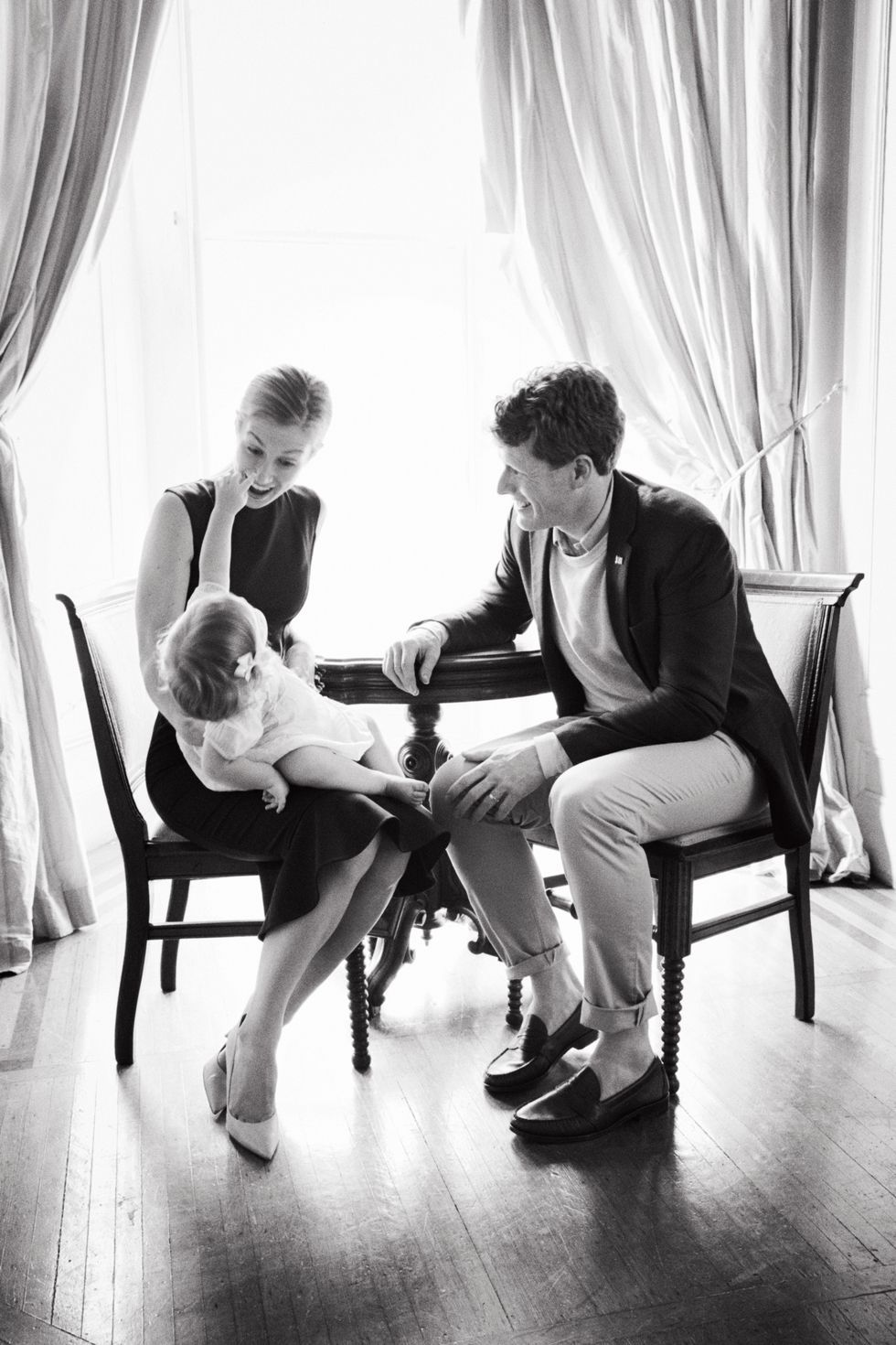 Joe Kennedy With His Family