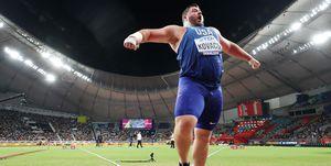 Doha 2019, lanzamiento de peso, Mundial de atletismo