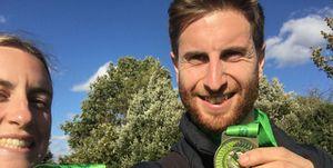 man to run marathon after beating cancer