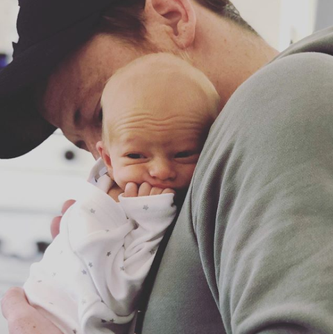 Joe Swash opens up about being a father to new baby Rex