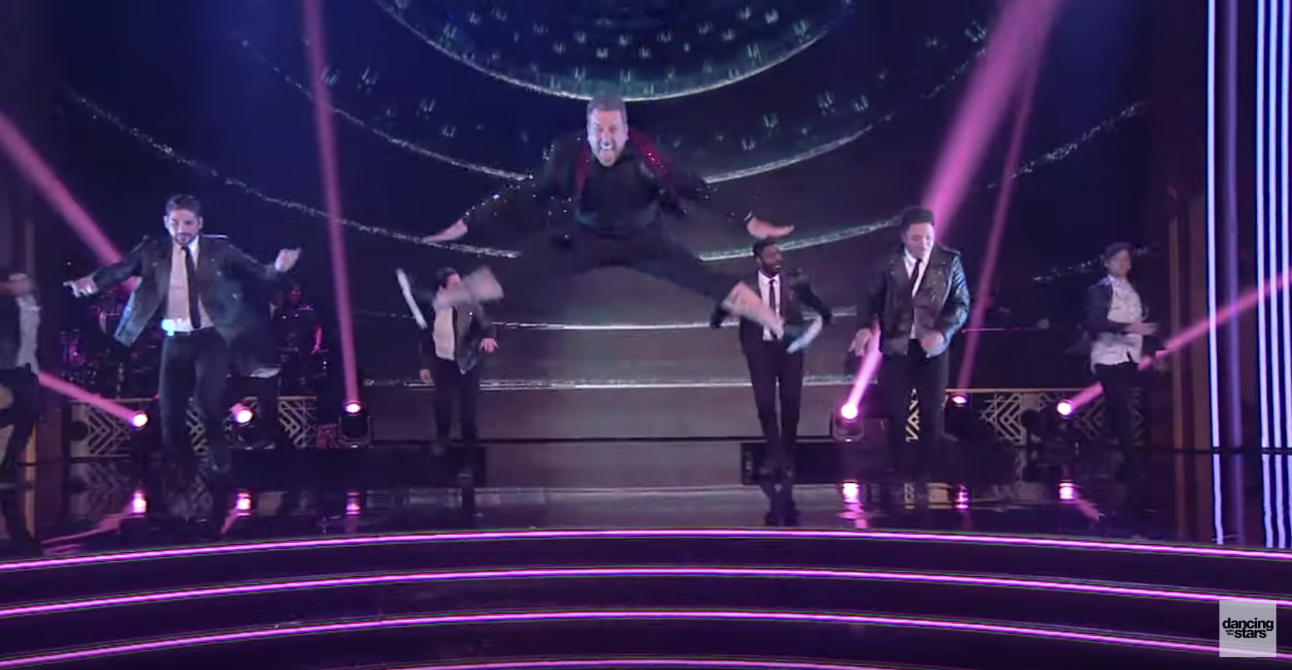 'DWTS' Guest Star Joey Fatone Split His Pants During the Show, But You Probably Missed It