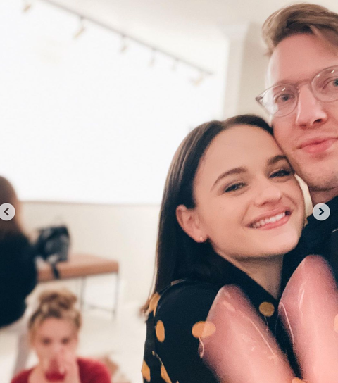 joey king boyfriend christmas