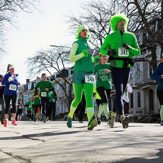 8f49ca3bd Joggers, South Boston, St Patricks Day Road Race, South Boston,  Massachusetts