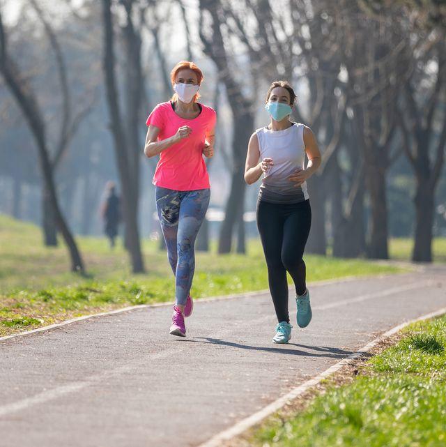running on crowded trails coronavirus