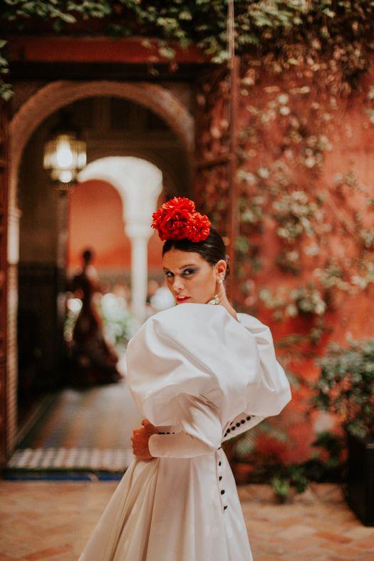 Vestidos invitada boda flamenca