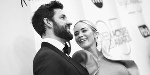 Emily Blunt and her husband John Krasinski
