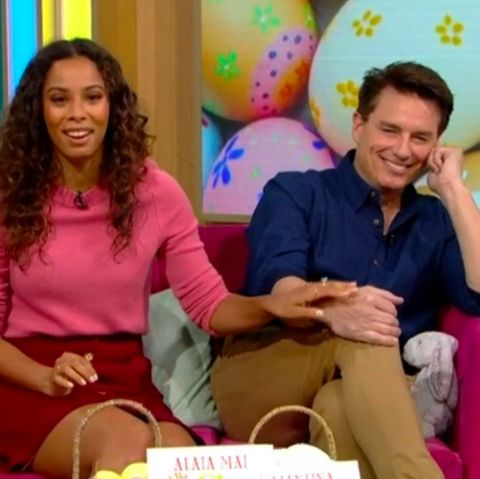 """John Barrowman """"almost wets his pants"""" after getting big shock on This Morning"""