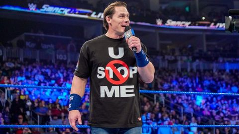 4e6cab23 WWE SmackDown Live results - John Cena returns on New Year's Day