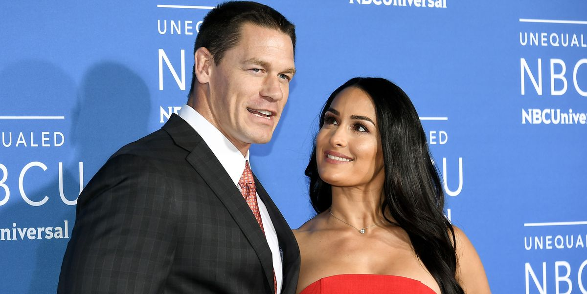 Nikki Bella And John Cenas Different Anniversary Messages - John Cena Shades Nikki -4689