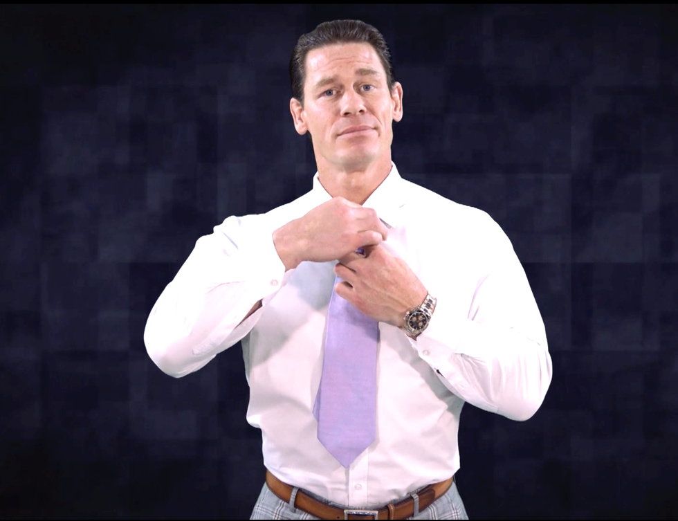 John Cena Is Using a Sexy Striptease to Warn You About Coronavirus Misinformation thumbnail