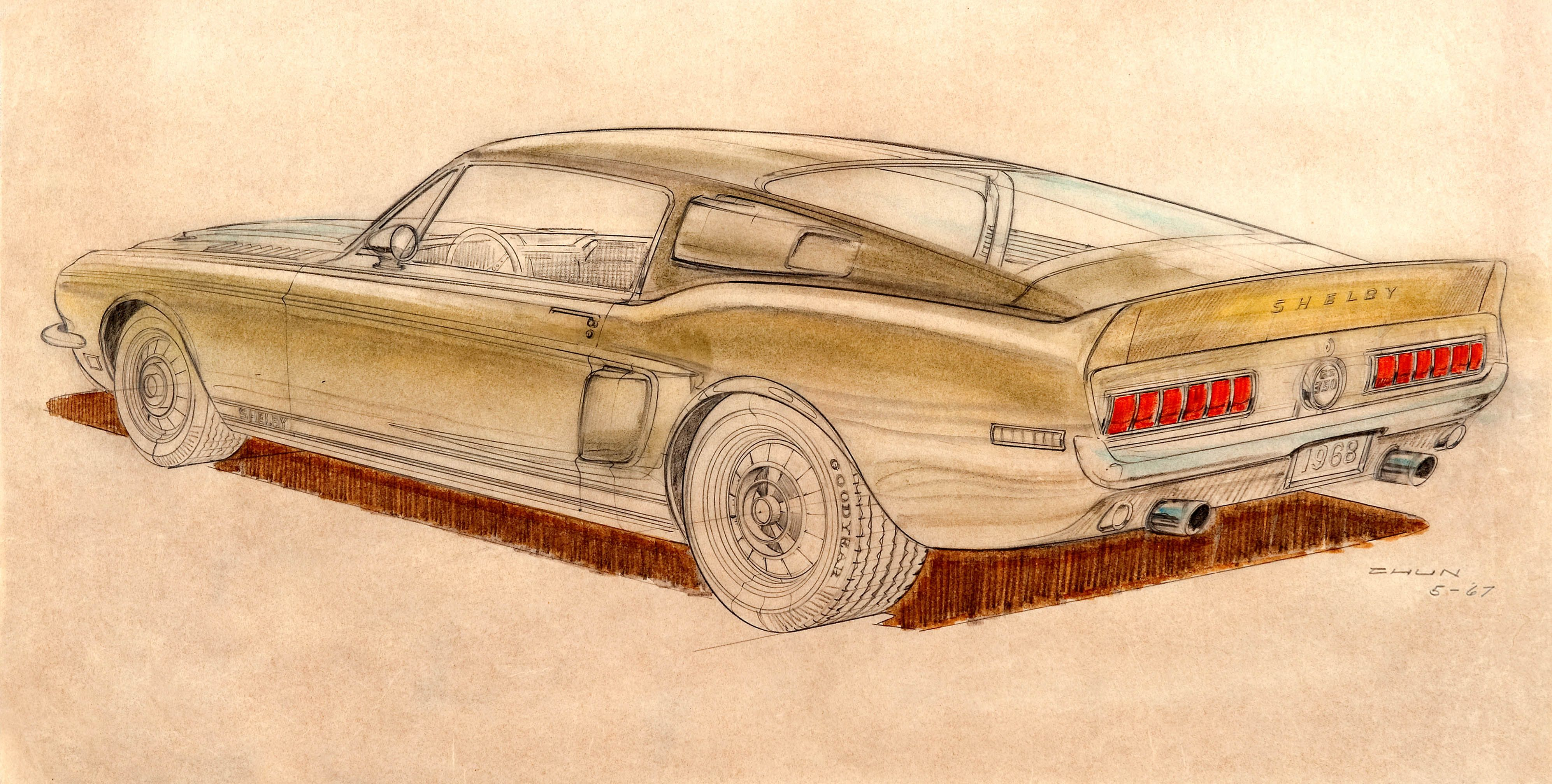 The North Korean Designer Responsible for the 1967 Shelby GT500