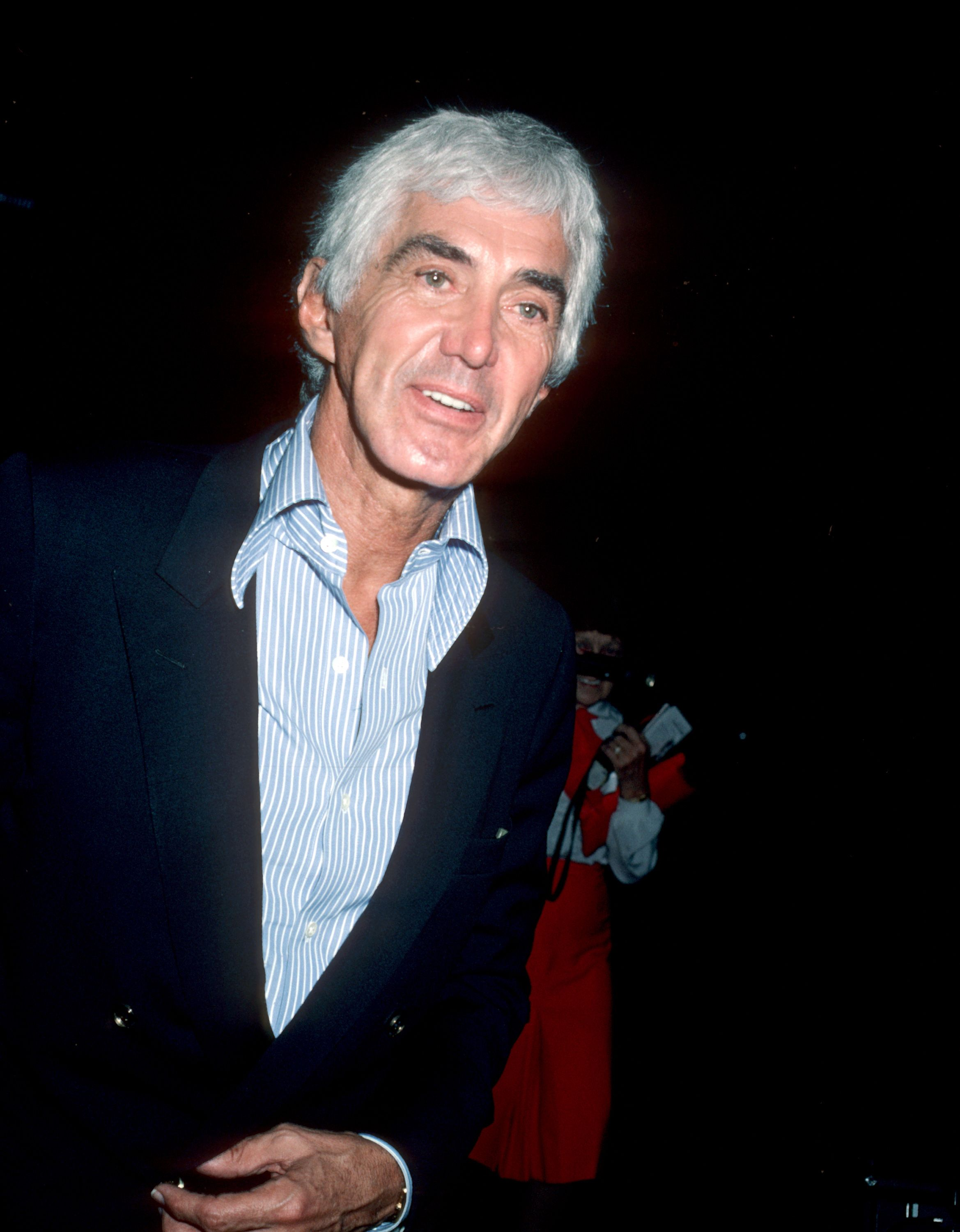 John DeLorean Departing from the Pierre Hotel - August 1, 1984