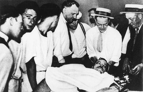 John Dillinger muerte