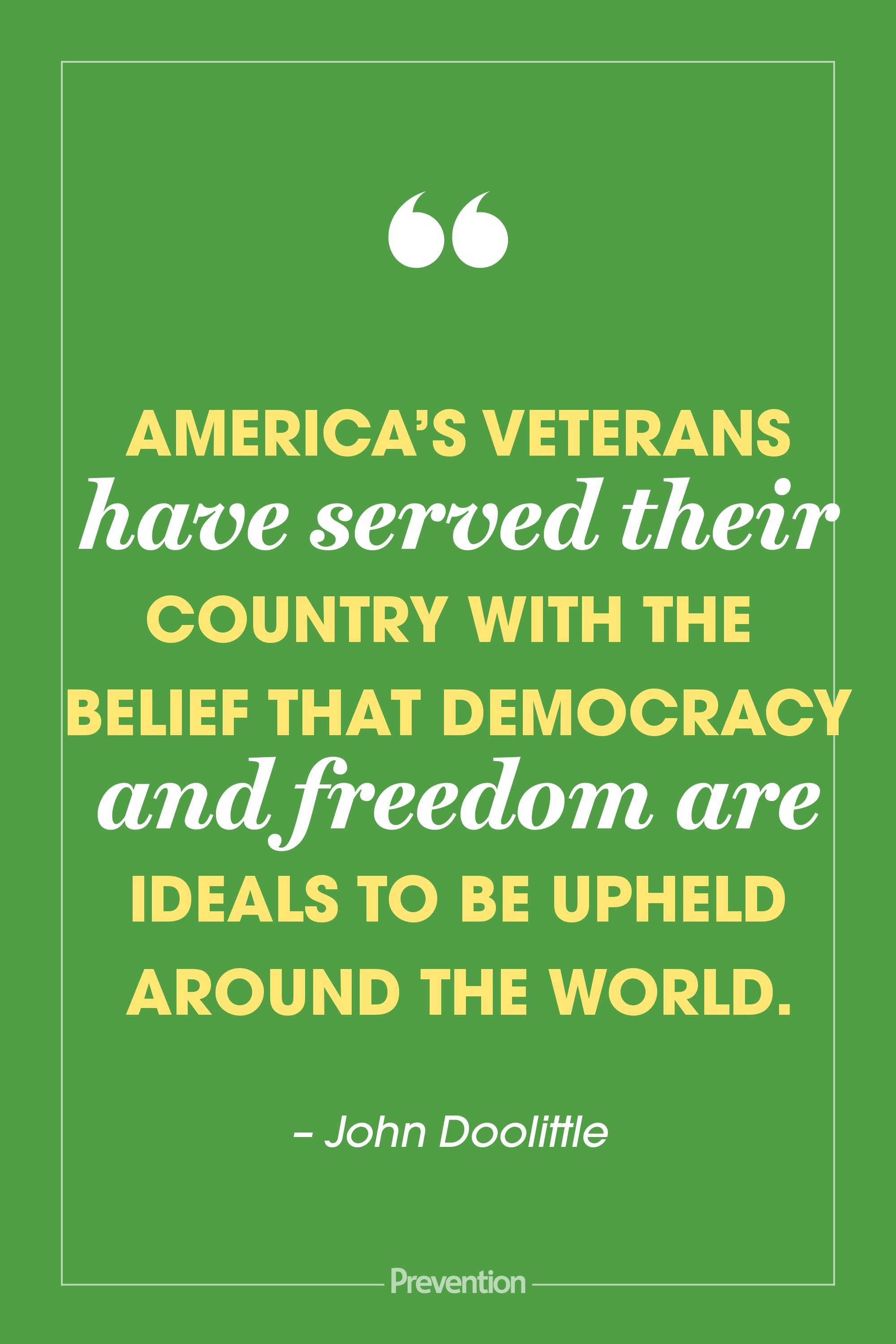 20 Inspiring Veterans Day Quotes To Honor Those Who Ve Served