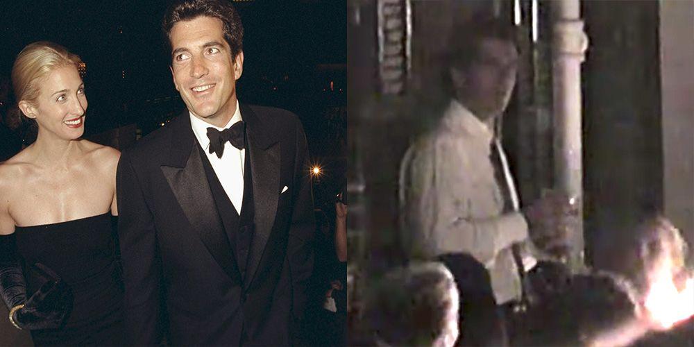 Watch Never-Seen John F  Kennedy Jr  and Carolyn Bessette Wedding
