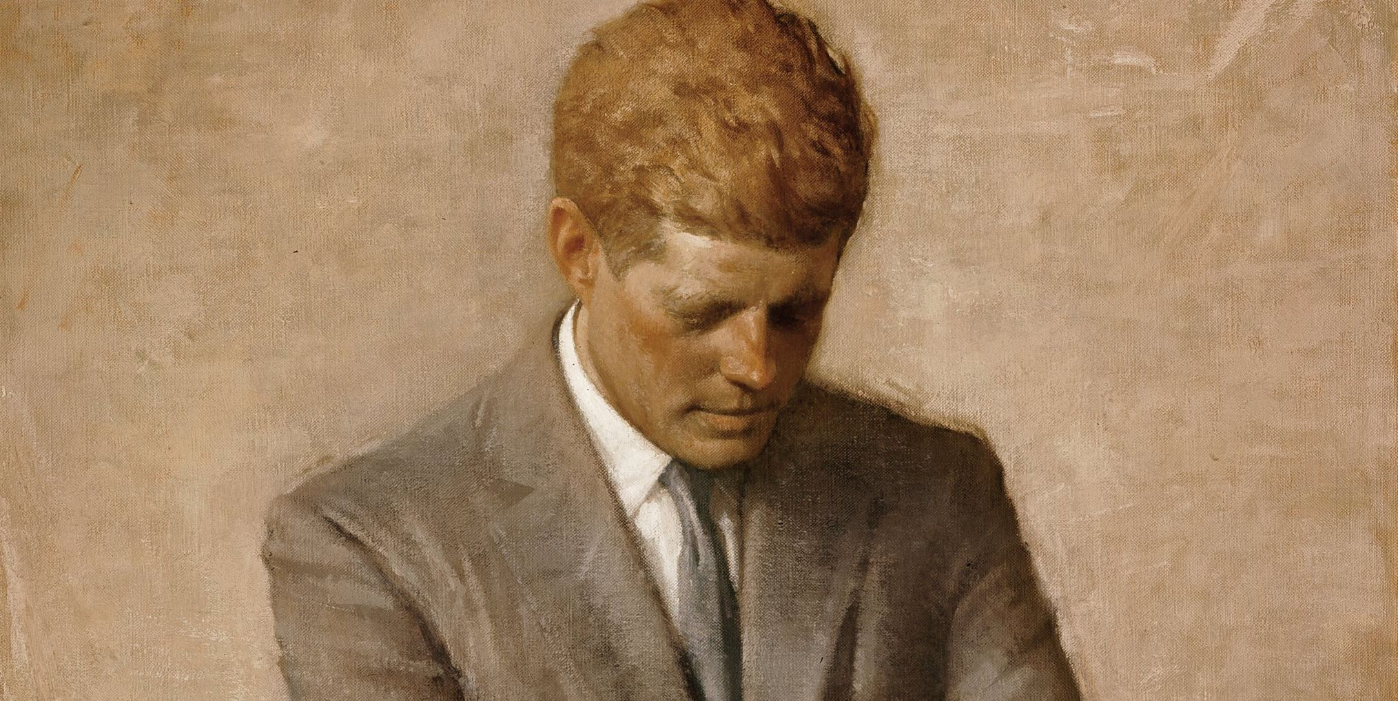 The Story Behind JFK's Official White House Portrait