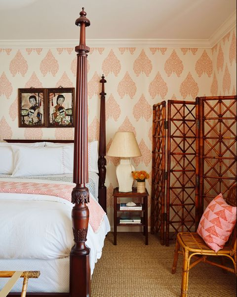 Room, Furniture, Bed, Product, Wall, Property, Wallpaper, four-poster, Interior design, Floor,