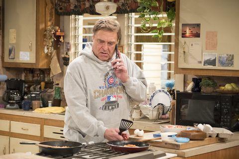 John Goodman as Dan Conner on Roseanne