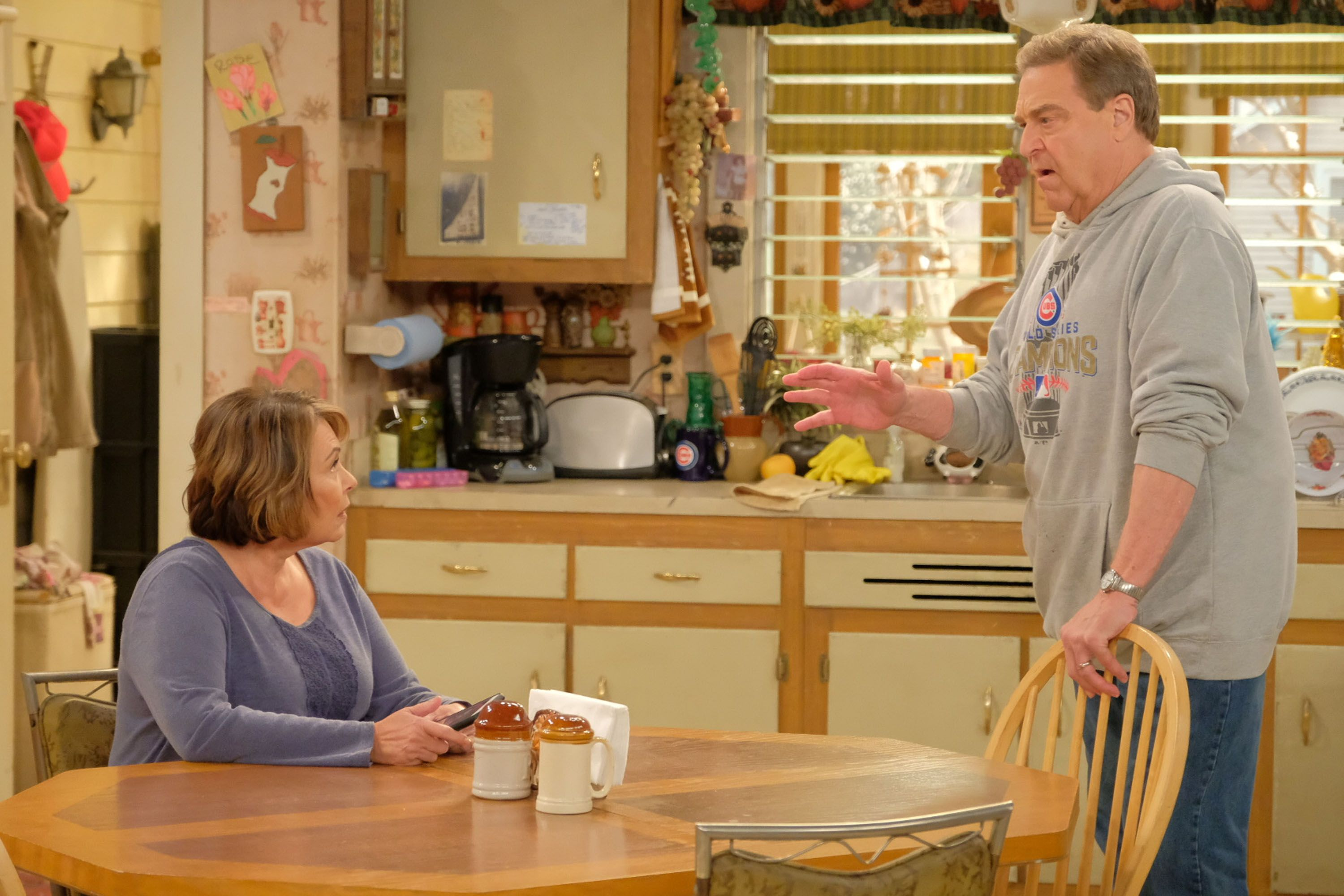 John Goodman on Roseanne 2018