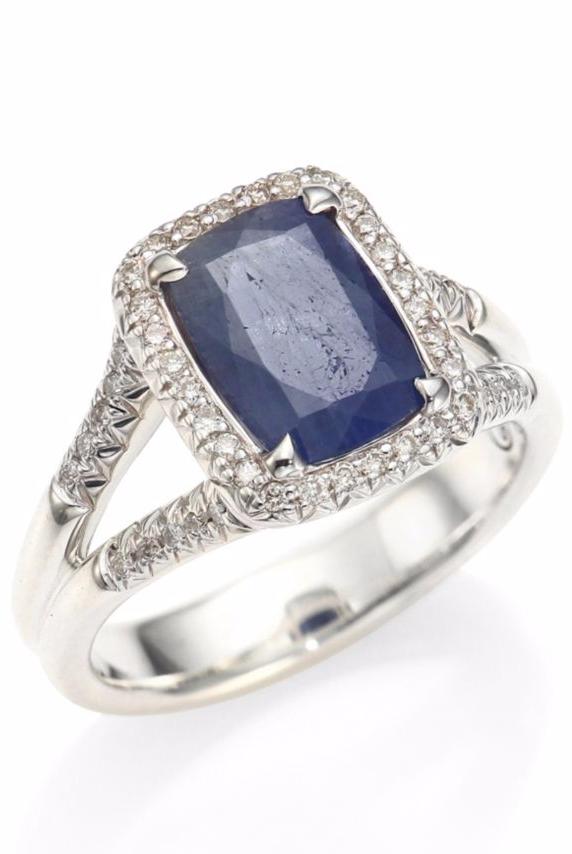 Sapphire Engagement Rings 16 Sapphire Engagement Rings