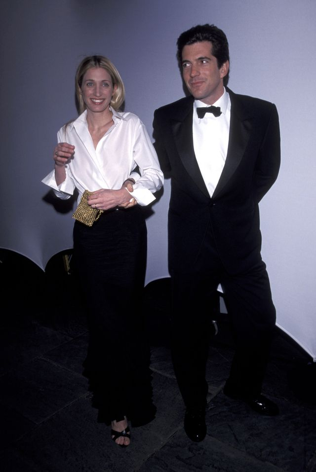 john f kennedy jr  carolyn bessette during brite night whitney annual fundraising gala at whitney museum in new york city, new york, united states photo by ron galella, ltdron galella collection via getty images