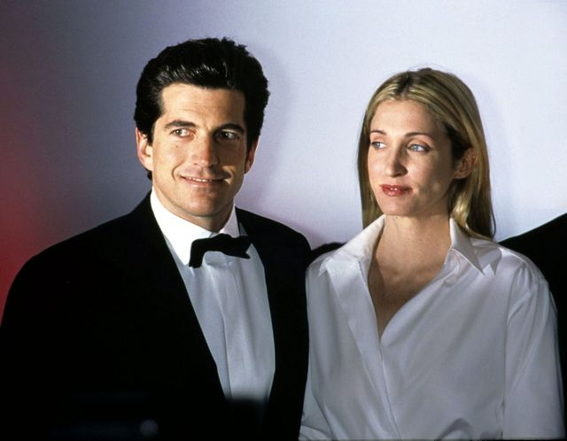 new york   march 9, 1999  john f kennedy jr, and his wife carolyn bessette kennedy attend the brite night whitney annual fundraising gala march 9, 1999 at the whitney museum in new york city  photo by arnaldo magnanigetty images