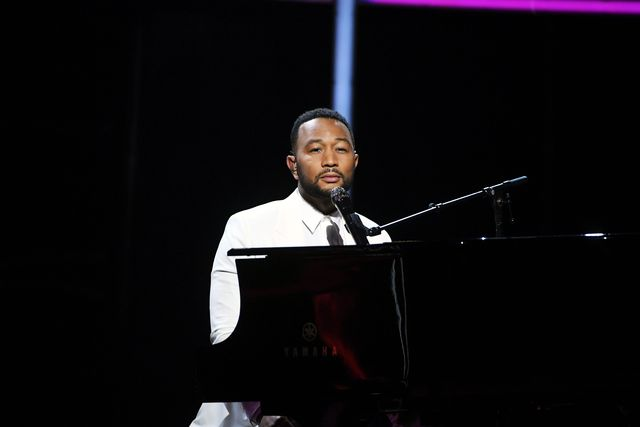 hollywood, california   october 14 in this image released on october 14, john legend performs onstage at the 2020 billboard music awards, broadcast on october 14, 2020 at the dolby theatre in los angeles, ca  photo by kevin winterbbma2020getty images for dcp