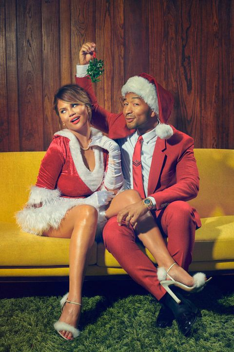 John Legend and Chrissy Teigen Host Christmas Special