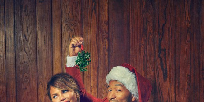 John Legend and Chrissy Teigen Host Christmas Special