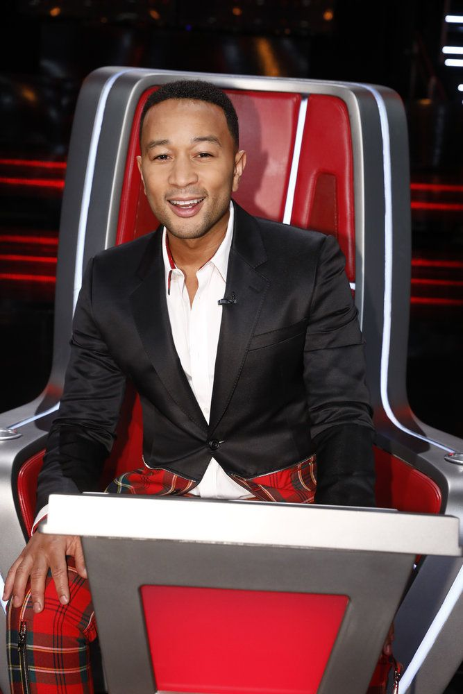 John Legend Wore an Outrageous Outfit on 'The Voice' Last Night and Twitter Lost It