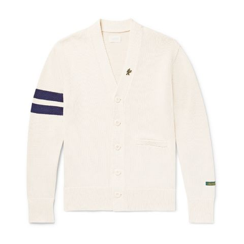 Shop de stijl van John Legend. De casual cardigan sweater look.