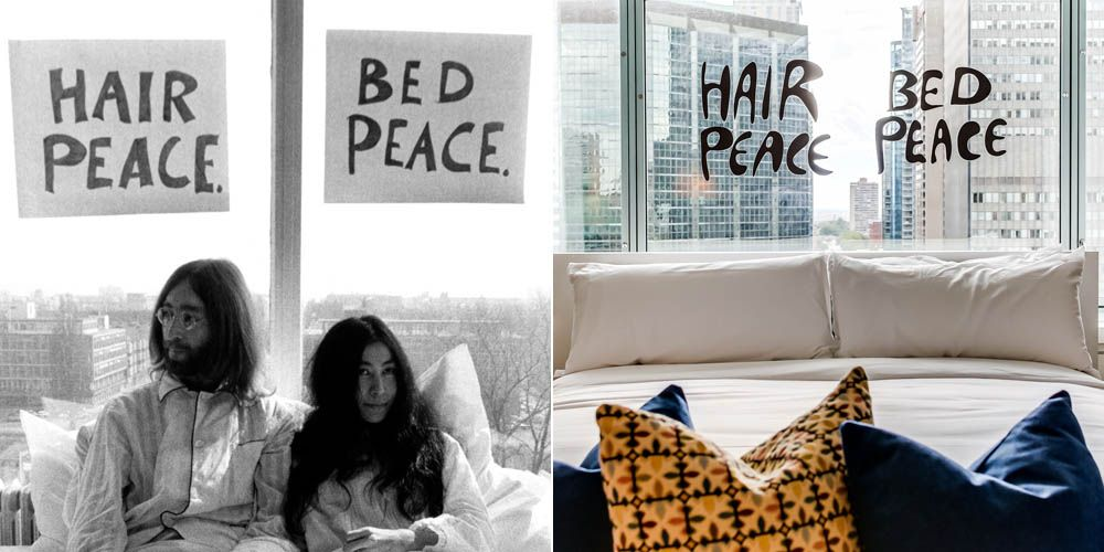 Stay In The Suite Where John Lennon And Yoko Ono S Bed In