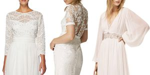 John Lewis bestselling wedding dresses