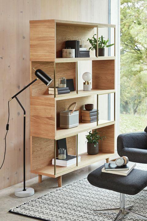 ee14dbf8b1a6 Design Project by John Lewis No.004 Display Unit, Oak - bookcase, bookshelf