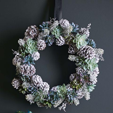 Christmas Wreaths Door