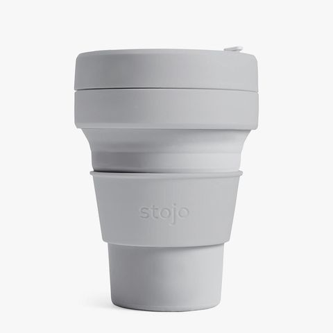 Collapsable coffee cup