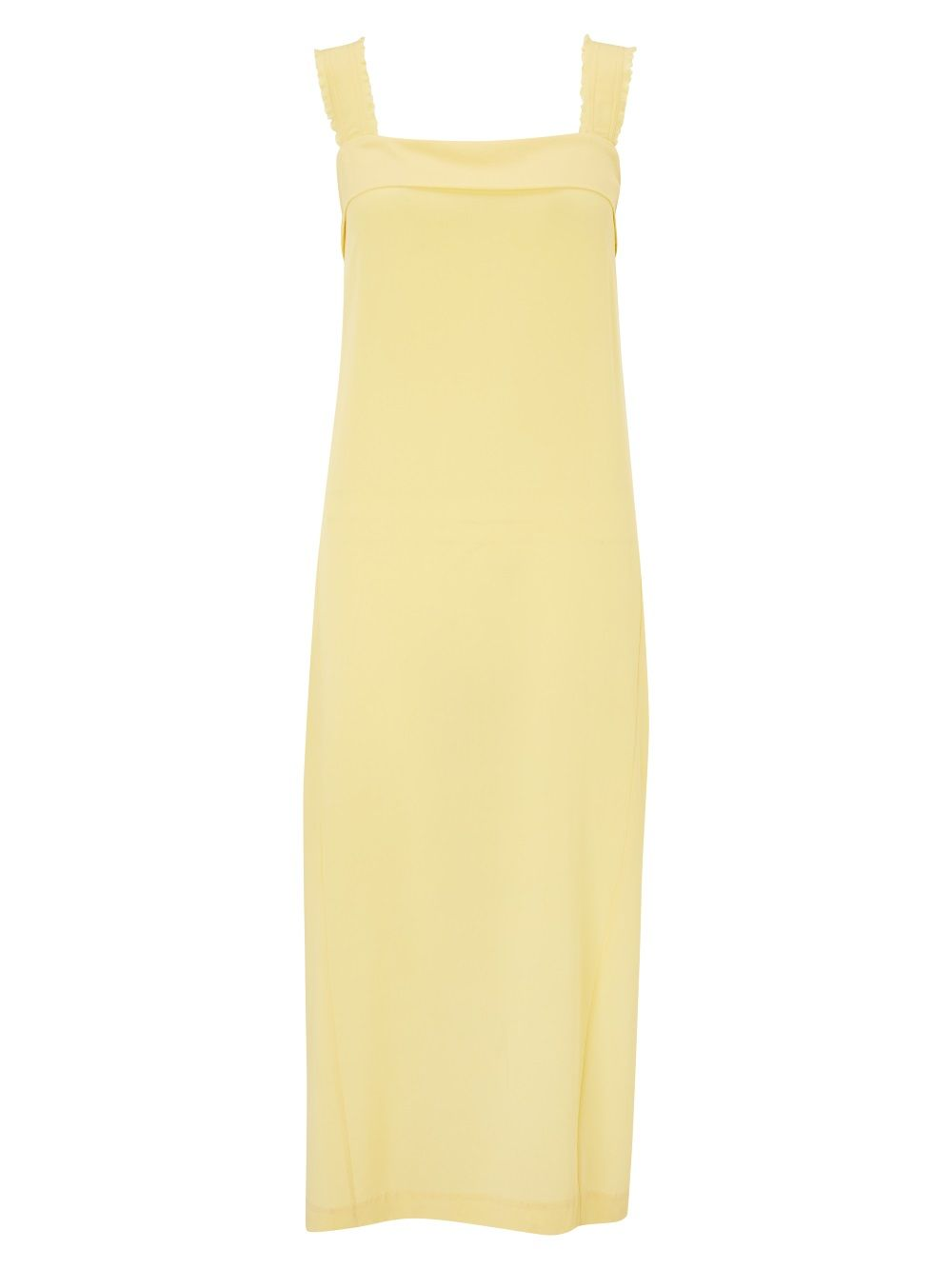 John Lewis paleyellow maxi dress