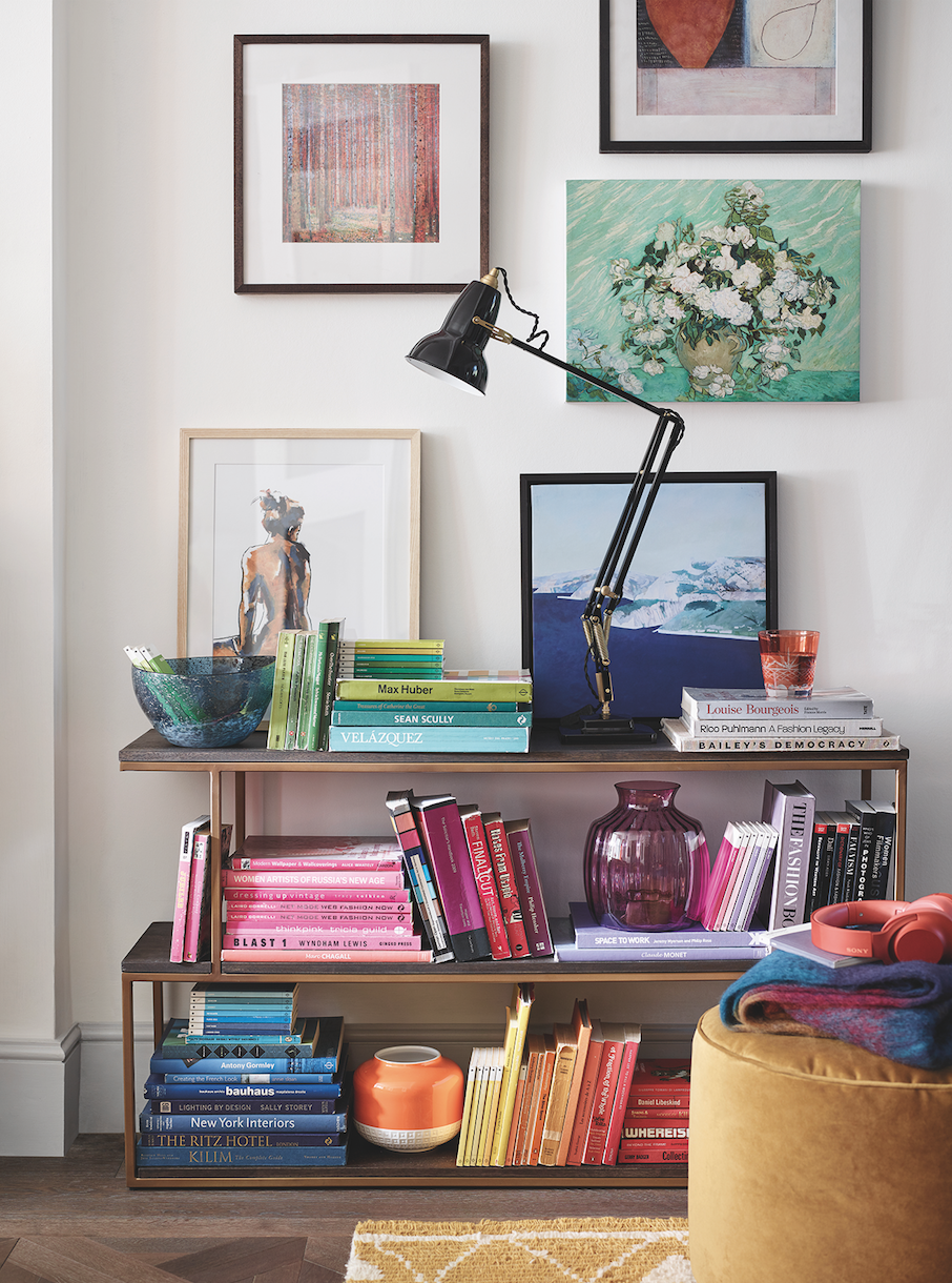 John Lewis to stop selling clip frames as gallery wall becomes latest living room trend