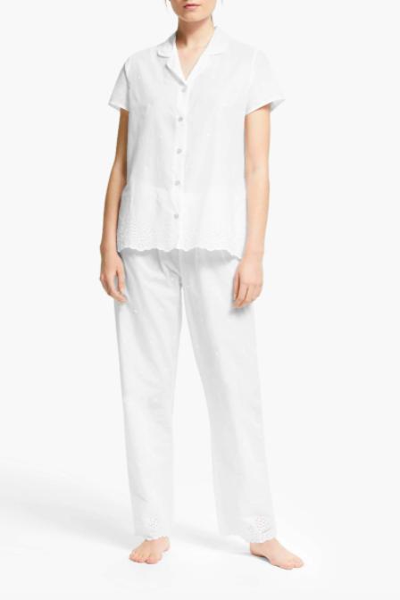ladies cotton pyjamas
