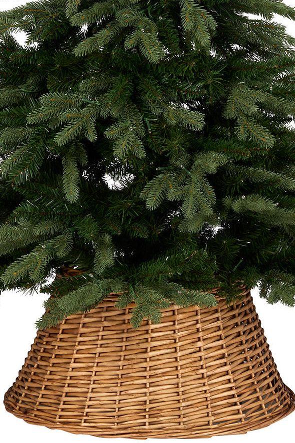 John Lewis & Partners Emerald Willow Tree Skirt, Natural