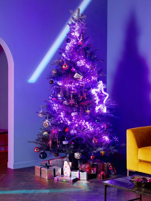 Christmas Themes.80s 90s Themed Party Tree Is Top Christmas 2019 Decorating Trend