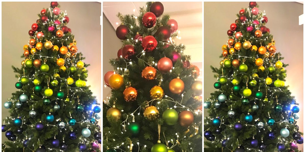 838407b80b7b Rainbow Christmas Trees Will Be Biggest Christmas 2018 Trend, says John  Lewis