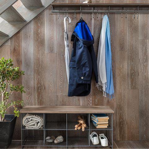 John Lewis & Partners shoe rack