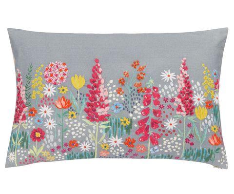 John Lewis Sissinghurst Border Cushion, Multi
