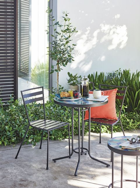 john lewis suri 2 seater mosaic bistro garden table and chairs set multi - Garden Funiture Set