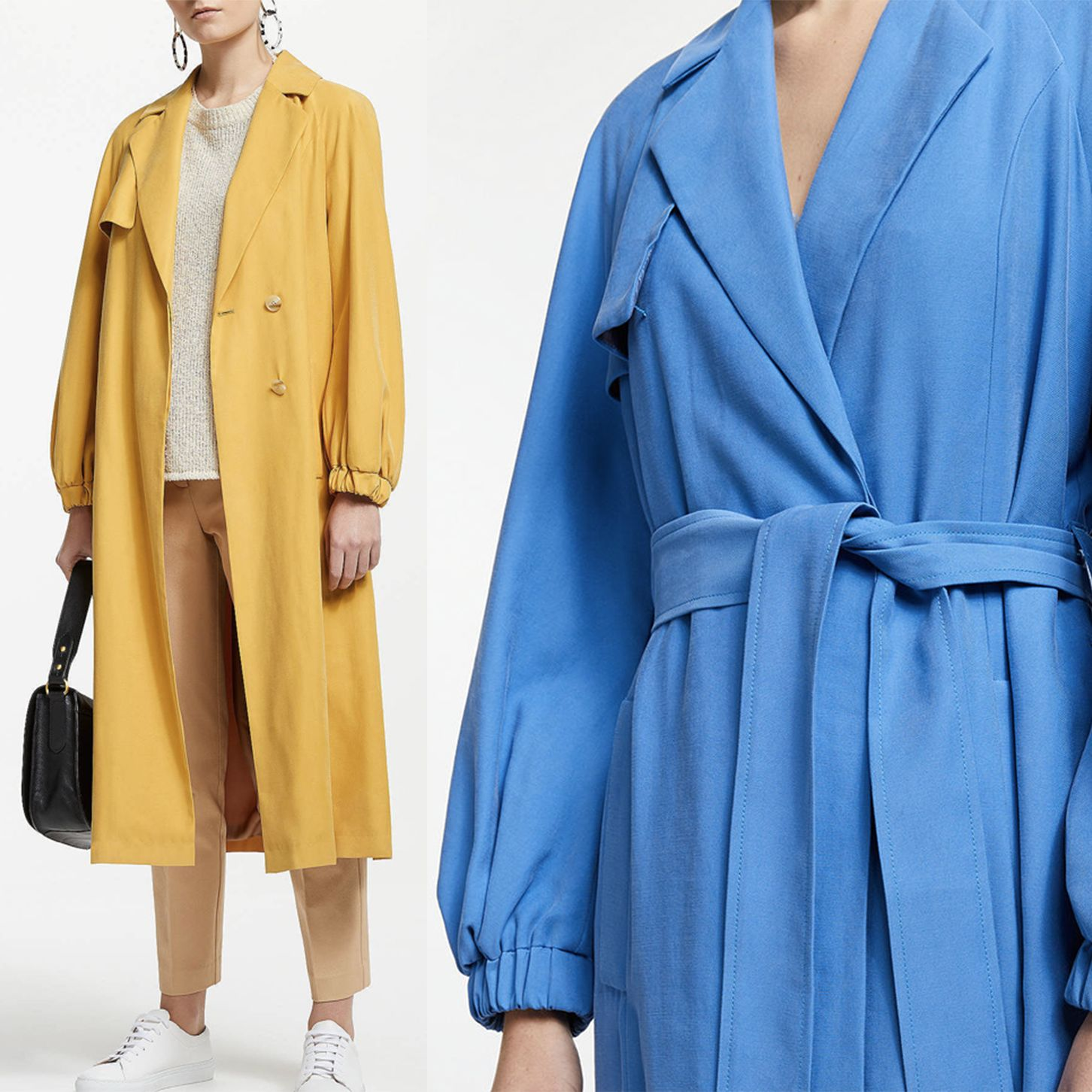 John Lewis & Partners is selling the perfect trench coat for spring