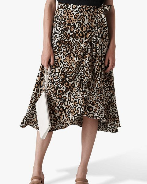 Tesco Is Selling A Leopard Print Midi Skirt For Just 163 22