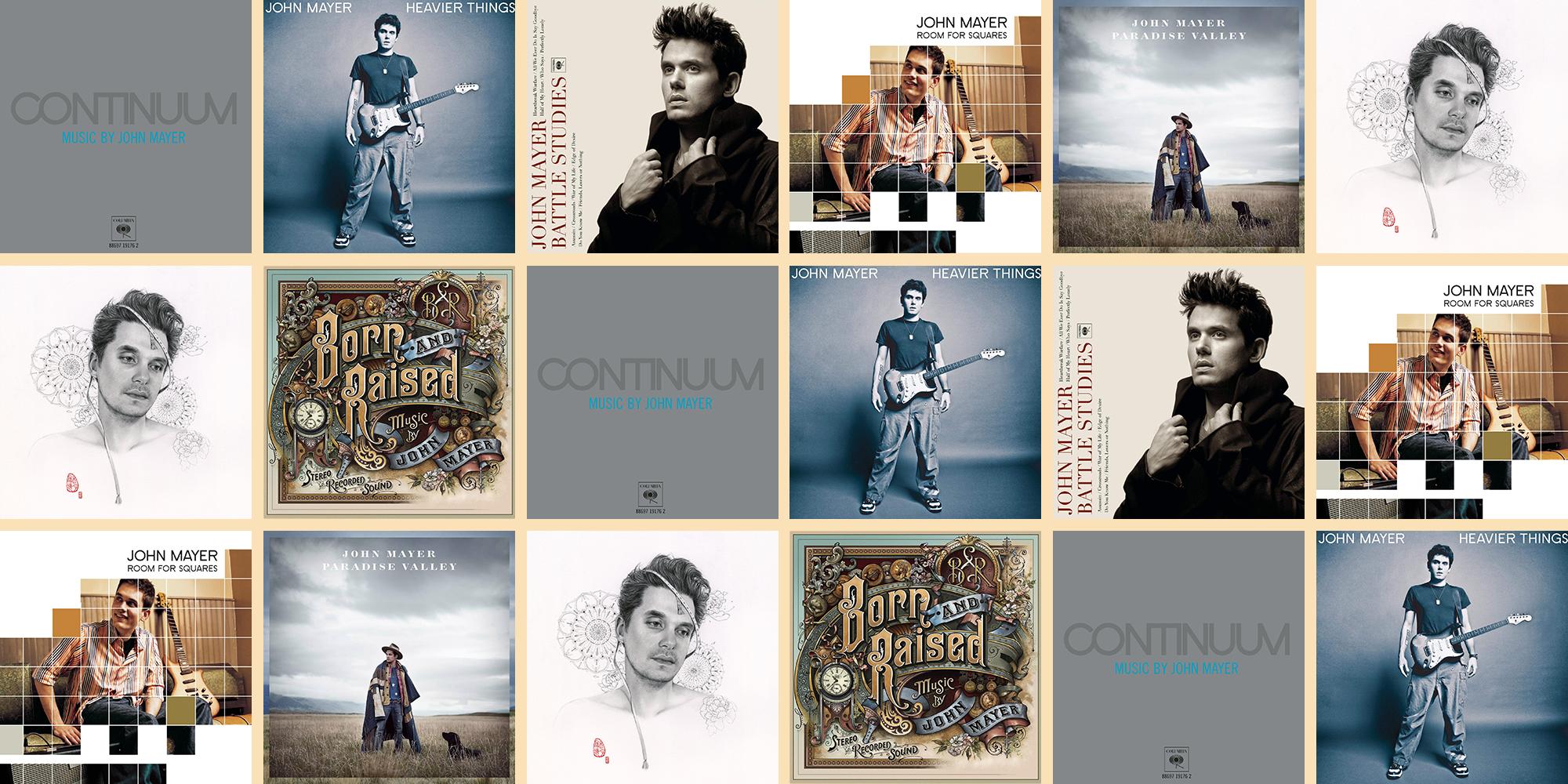 Every John Mayer Album, Ranked